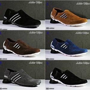 Jual Sepatu Pria Formal Casual Santai Adidas Slip On Terlaris   Termurah  1 a9f9ec9619