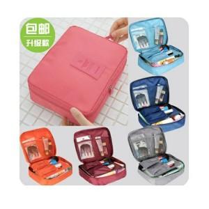 Tas Kosmetik Cosmetic Organizer Pouch Monopoly Travel Travel Bag Hitam Tokopedia