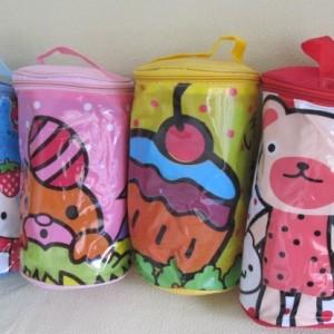 Tas Kosmetik Tas Souvenir Tas Make Up Tas Murah Pouch Kosmetik Beruang Dan Ikan Tokopedia