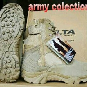 Sepatu Delta Force Tan Tokopedia