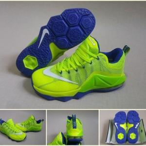 sneakers for cheap 67881 b76bf ... germany jual sepatu basket nike lebron 12 low green blue grade ori  replika import 4f632 051b5