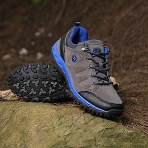 Sepatu Outdoor Gunung Snta 428 Grey Blue Tokopedia