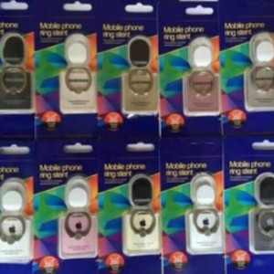 Ring Stand Logo Samsung Apple Penyangga Hp Tokopedia