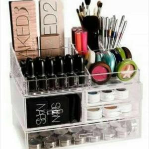 Acrylic Make Up Organizer Akrilik Kosmetik Zx Terlaris Tokopedia