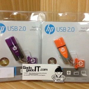Flashdisk Hp 32gb Flash Disk Silver Tokopedia
