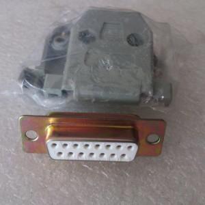 Jual Konektor / Connector VGA 15 pin 2 baris Female (db 15 db15) +