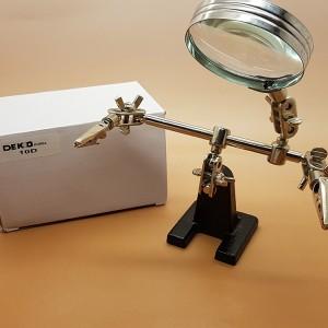 Kaca Pembesar Alat Pegangan Solder Helping Hand Alat Servis Hp Tokopedia