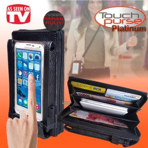 Touch Purse Dompet Hp Multifungsi Tokopedia