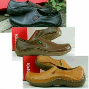 Sepatu Pantofel Kickers Sepatu Kerja Boot Kickers Tokopedia