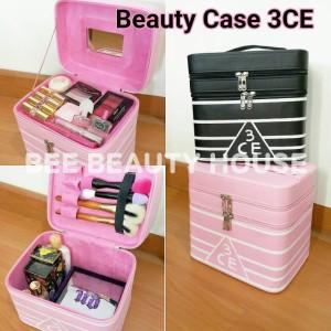 Koper Kosmetik Kosmetik Case Tempat Kosmetik Kp 05 Permata Black Tokopedia