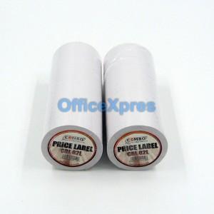 Label Harga Price Label 2 Line Putih Combo Tokopedia