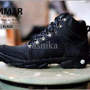 Sepatu Hummer Husky Black Tokopedia
