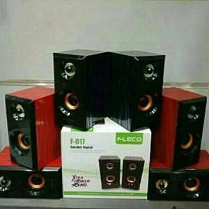 Speaker Fleco F 017 Speaker Aktif Mini Komputer Hp Tokopedia