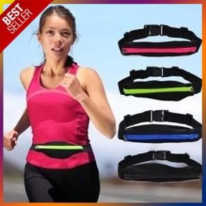 Tas Pinggang Jogging Belt Sport Lari Running Pouch Botol Hp Waterproof Tokopedia