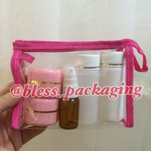 Terlaris Pouch Dompet Tas Kosmetik Make Up Organiser Tokopedia