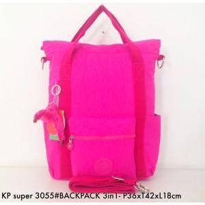 Jual Tas Ransel Kipling Backpack Handbag Selempang Multifungsi 3in1 3055 - d44359b5e9