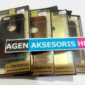 """Jual Motomo Mirror Case iPhone 6 6G 6S 4.7"""" Hard Case Metal"""
