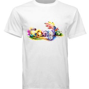 Kaos Distro Google Tshirt Pria Baju Cowok Hitam Tomyliston Tokopedia