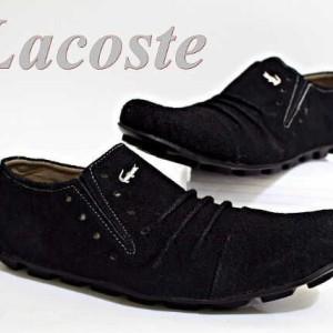 Sepatu Kulit Lacoste Casual Tokopedia