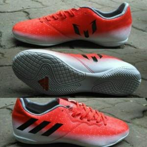 bde4af3fdd Harga Sepatu Futsal Adidas Messi 16 Biru List Silver Grade Ori 1 ...
