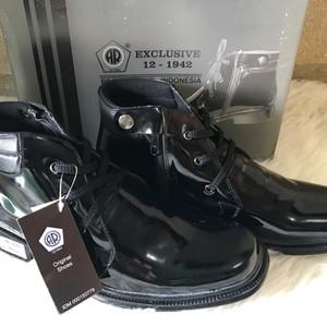 Sepatu Pdh Tali Sleting Tokopedia