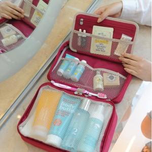Partition Wash Bag Toiletries Pouch Tas Kosmetik Underwear Travel Tokopedia