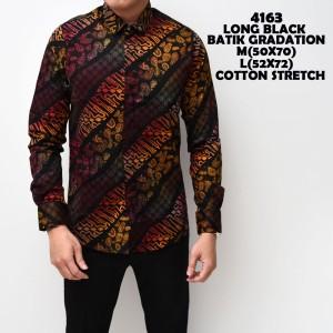 Baju Batik Kemeja Slimfit Tokopedia