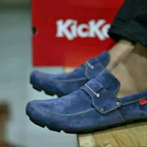 Sepatu Casual Kickers Mocassin Sepatu Kickers Slip On Sepatu Pria Kickers Slop Tokopedia