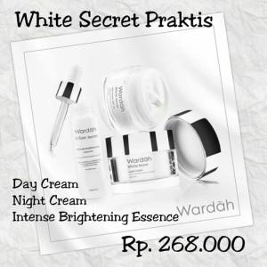 Paket Kosmetik Wardah White Secret Murah Tokopedia