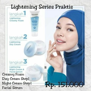 Paket Lightening Series Wardah Kosmetik Tokopedia