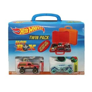 Hot Wheels HW Hotweels carry case twin pack box isi 2