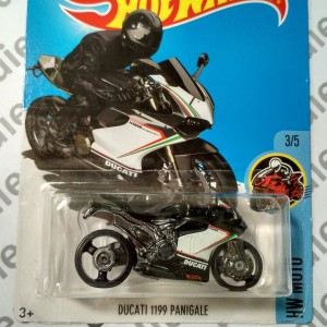 Hot Wheels 2017 - Ducati 1199 Panigale Black
