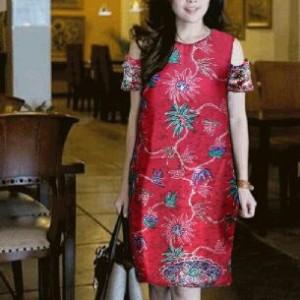 Baju Batik Dress Batik Mini Dress Wanita Tokopedia