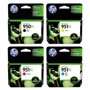 Paket Tinta Hp 950 XL Black+951XL Color Original