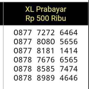Jual NOMOR CANTIK(0878 7676 6565(0878 8989 4646)XL prabayar,ABAB