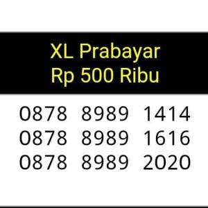 Jual NOMOR CANTIK(0878 8989 2020,1616,1414)XL prabayar,ABAB