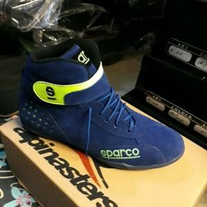 Sepatu Drag Sparco Biru Tokopedia