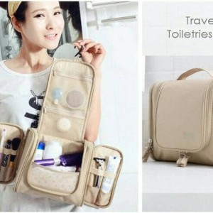 Travel Bag Tas Kosmetik Peralatan Mandi Toilet Bag Organizer Tokopedia