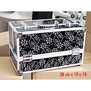 Jual Beauty Case Motif Kotak Penyimpanan Kosmetik Perhiasan Tokopedia
