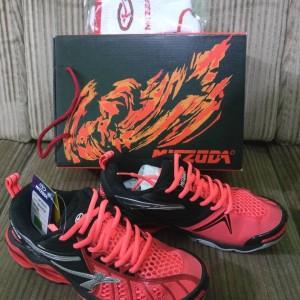 Jual Sepatu Volley Voli Mitzuda Light Verza Duo II Merah Hitam Original c09a0723f5