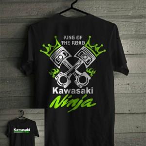 Baju Kaos Kawasaki Ninja Tokopedia