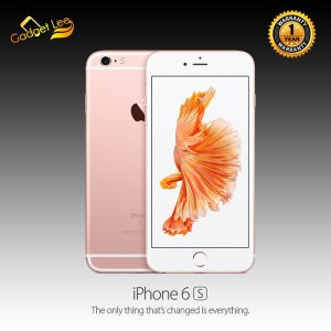 Iphone 6s 64gb Second Seken Rose Gold Tokopedia