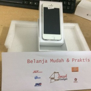 Apple Iphone 5 16gb White Gsm Garansi Distributor 1 Tahun Tokopedia