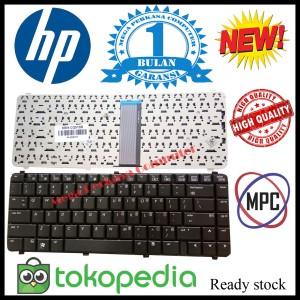 Keyboard Hp 500 520 Series Hitam Tokopedia