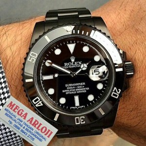 Jam Tangan Pria Rolex Submariner Super Mewah Elegant Swiss Made Tokopedia