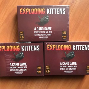 Exploding Kittens Red Board Game Harga Promo Tokopedia