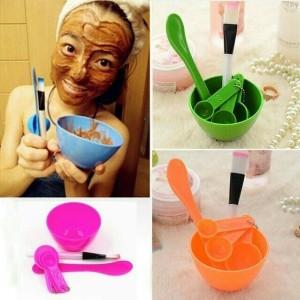 Mangkok Masker Kosmetik Wajah 4in1 Mas Bowl Tool Tokopedia
