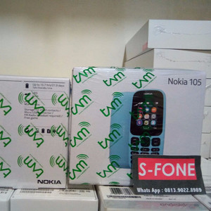 Nokia 105 Dual Sim Garansi Resmi 1 Thn Tokopedia