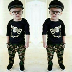 Setelan Baju Anak Gunbuy Kids Tokopedia