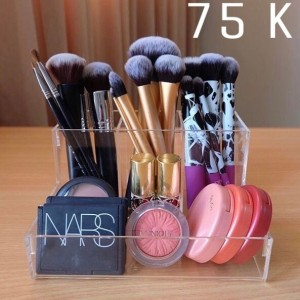 Promo Acrylic Makeup Organizer Tempat Kosmetik Akrilik Tokopedia